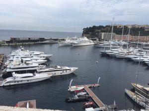 mega yachts in Monaco